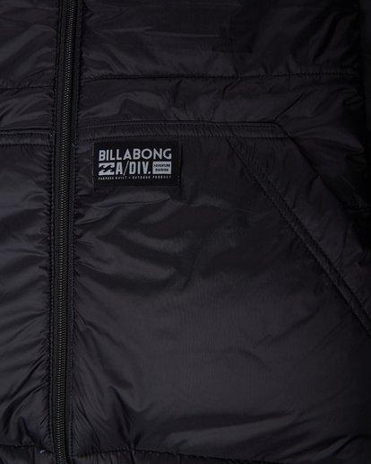 6 Boys Transport 10K Reversible Jacket Noir L2JK08BIF8 Billabong