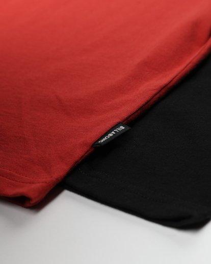 2 Boys Die Cut T-Shirt Rojo L2LS01BIF8 Billabong
