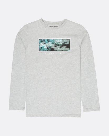 0 Boys Inversed T-Shirt Gris L2LS02BIF8 Billabong