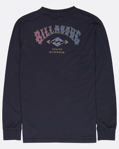 1 Boys Arch T-Shirt Bleu L2LS03BIF8 Billabong