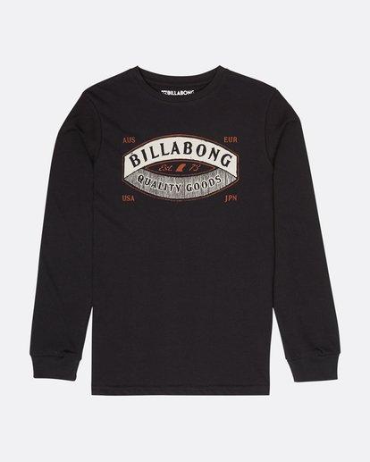 0 Boys Guardiant T-Shirt Noir L2LS06BIF8 Billabong