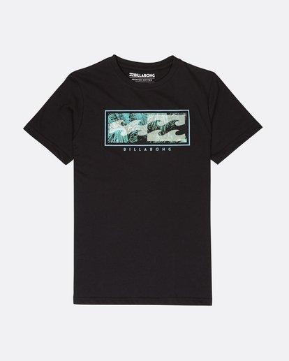 0 Boys Inversed T-Shirt Noir L2SS03BIF8 Billabong