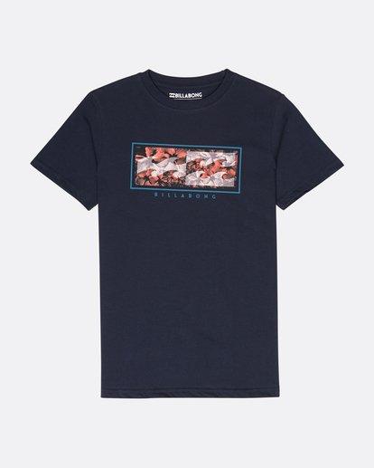 0 Boys Inversed T-Shirt Bleu L2SS03BIF8 Billabong