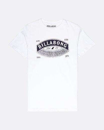 0 Boys Guardiant T-Shirt Blanc L2SS10BIF8 Billabong