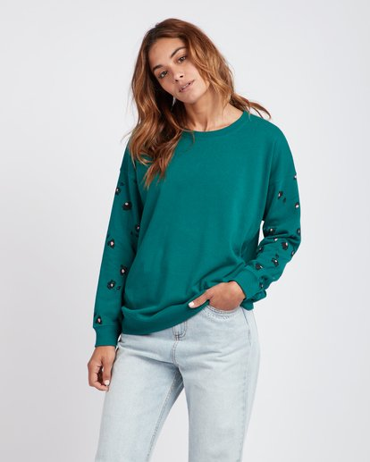 0 Hey Dude Oversized Fit Sweatshirt  L3CR02BIF8 Billabong