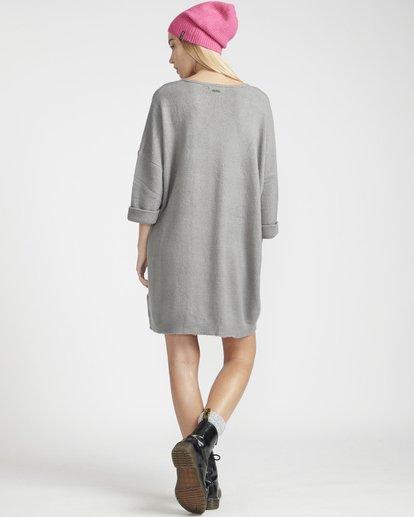 4 Holly Fire Comfy Knitted Dress Gris L3DR12BIF8 Billabong