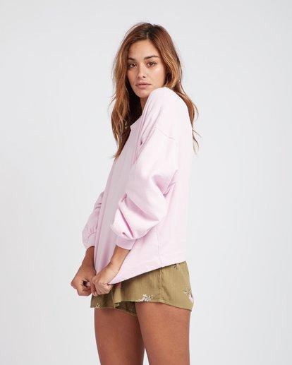 1 Hello Pretty Loose Fit Sweatshirt Violet L3FL02BIF8 Billabong