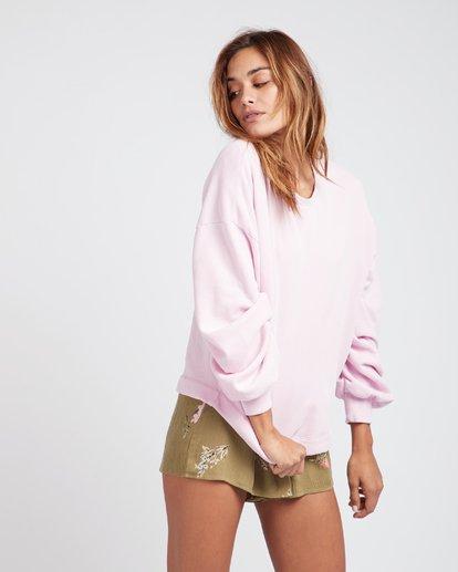 2 Hello Pretty Loose Fit Sweatshirt Violet L3FL02BIF8 Billabong