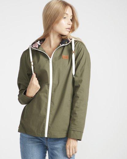1 Essential Regular Fit Sporty Jacket Vert L3JK04BIF8 Billabong