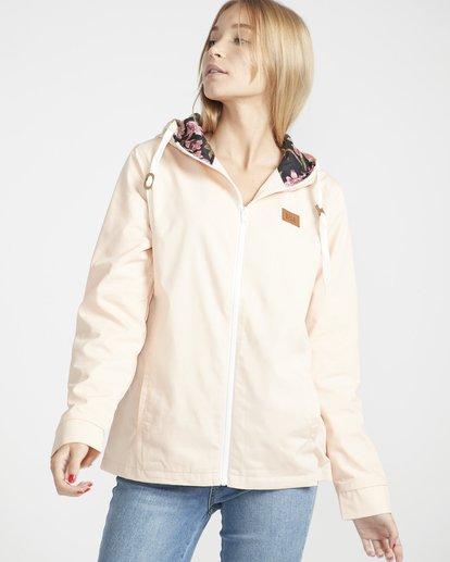 1 Essential Regular Fit Sporty Jacket Beige L3JK04BIF8 Billabong