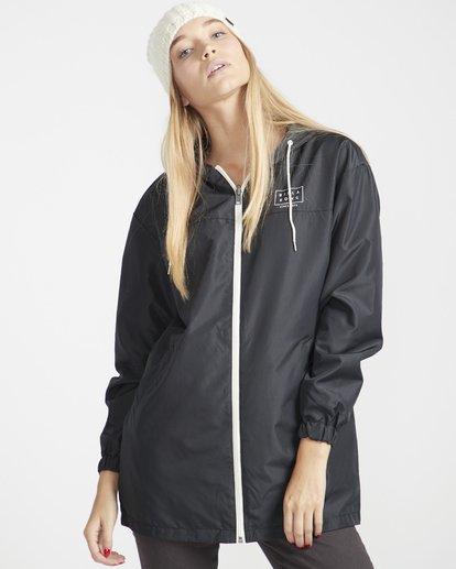 4 Essential Parka Jacket Noir L3JK13BIMU Billabong