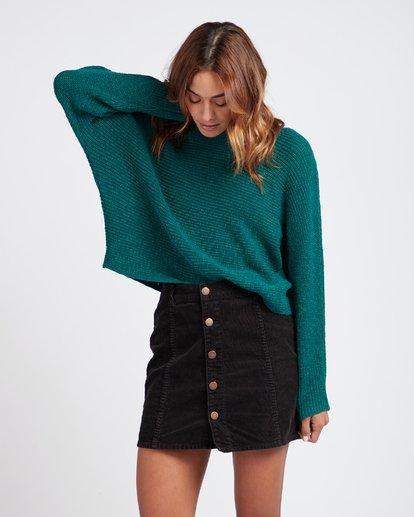 2 Backed Up Dolman Sleeves Sweater Vert L3JP08BIF8 Billabong
