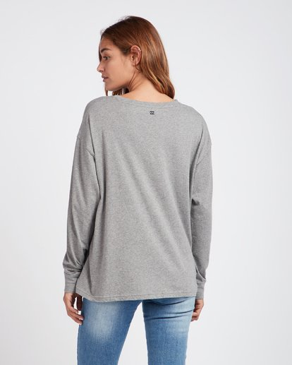 1 My Look Long Sleeve T-Shirt Gris L3LS05BIF8 Billabong