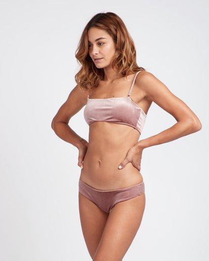 0 Fool4U Bandeau Bikini Top Violeta L3ST04BIF8 Billabong