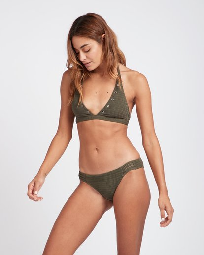 1 No Hurry High Neck Bikini Top Green L3ST06BIF8 Billabong