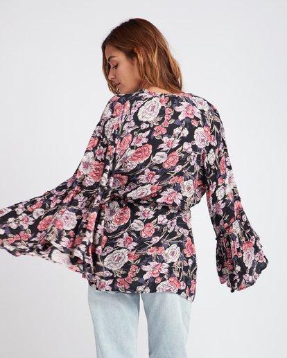 1 All Flored Kimono Top Noir L3TP07BIF8 Billabong