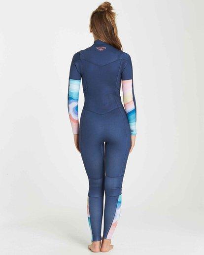 3 3/2 Salty Dayz Fullsuit Wetsuit Bleu L43G01BIF8 Billabong