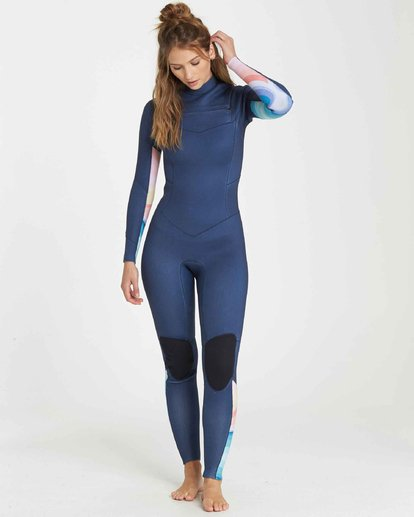 1 3/2 Salty Dayz Fullsuit Wetsuit Bleu L43G01BIF8 Billabong