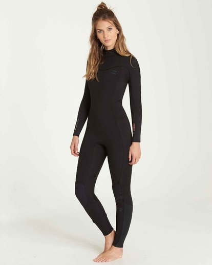 2 3/2 Furnace Synergy Back Zip Gbs Fullsuit Wetsuit Black L43G04BIF8 Billabong