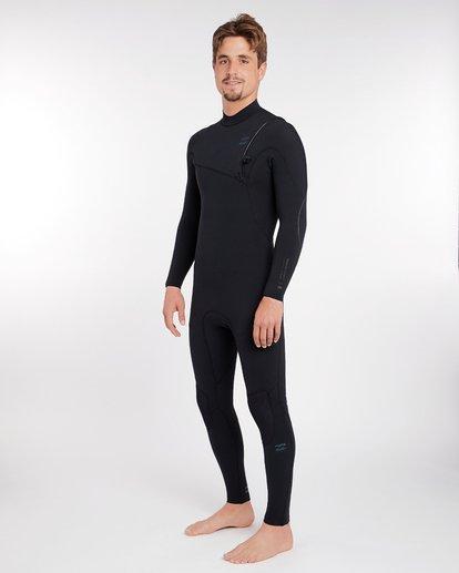 1 3/2 Furnace Carbon Comp Zipperless Wetsuit Schwarz L43M03BIF8 Billabong