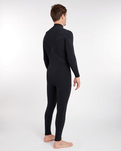 3 3/2 Furnace Carbon Comp Zipperless Wetsuit Schwarz L43M03BIF8 Billabong