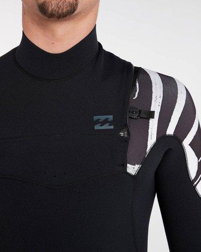 4 3/2 Furnace Carbon Comp Zipperless Wetsuit Schwarz L43M03BIF8 Billabong
