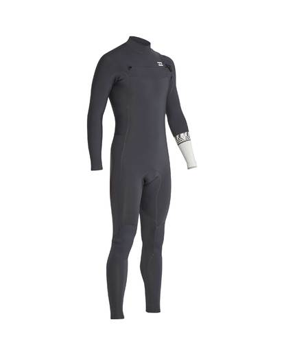 12 3/2 Furnace Revolution Chest Zip Long Sleeves Wetsuit Gris L43M06BIF8 Billabong