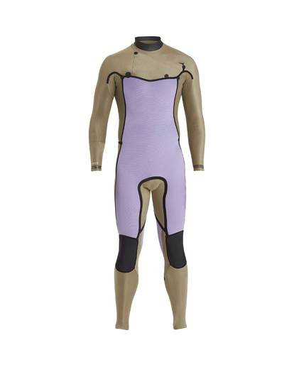 13 3/2 Furnace Revolution Chest Zip Long Sleeves Wetsuit Gris L43M06BIF8 Billabong