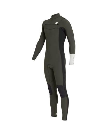 1 3/2 Furnace Revolution Chest Zip Long Sleeves Wetsuit Grün L43M06BIF8 Billabong