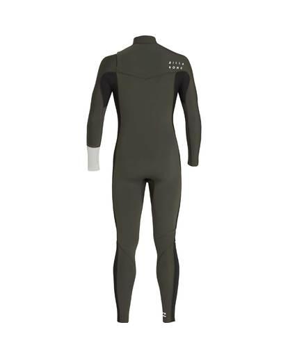 2 3/2 Furnace Revolution Chest Zip Long Sleeves Wetsuit Grün L43M06BIF8 Billabong