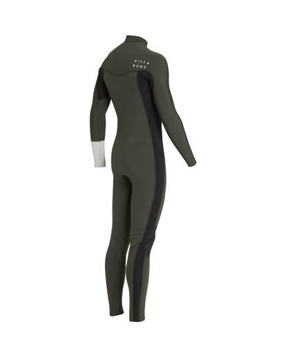 3 3/2 Furnace Revolution Chest Zip Long Sleeves Wetsuit Grün L43M06BIF8 Billabong