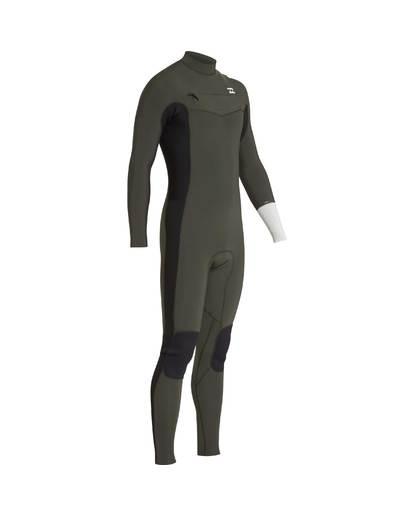 4 3/2 Furnace Revolution Chest Zip Long Sleeves Wetsuit Grün L43M06BIF8 Billabong