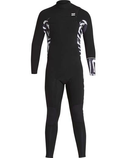 1 3/2 Furnace Revolution Chest Zip Long Sleeves Wetsuit Schwarz L43M06BIF8 Billabong