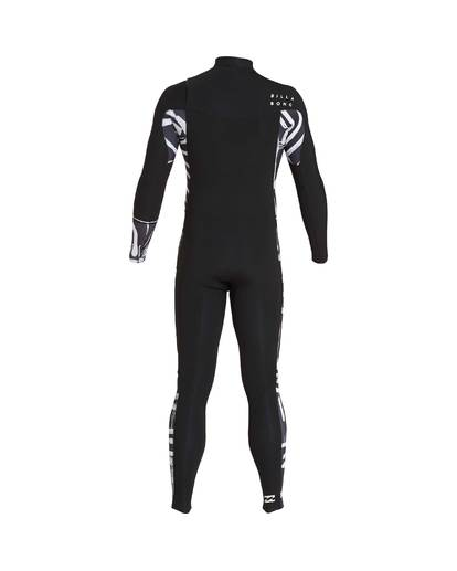 3 3/2 Furnace Revolution Chest Zip Long Sleeves Wetsuit Black L43M06BIF8 Billabong