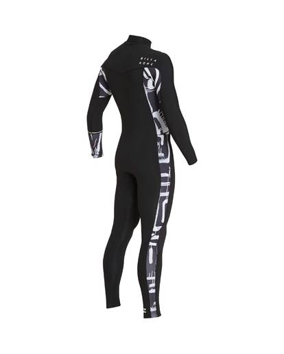 4 3/2 Furnace Revolution Chest Zip Long Sleeves Wetsuit Schwarz L43M06BIF8 Billabong