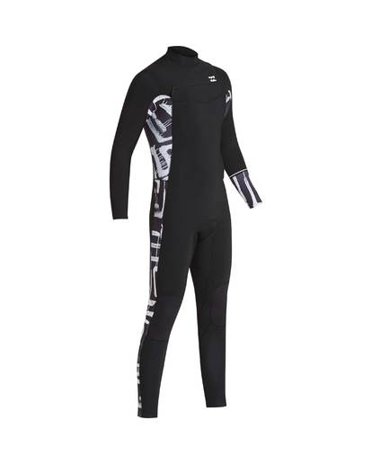 5 3/2 Furnace Revolution Chest Zip Long Sleeves Wetsuit Schwarz L43M06BIF8 Billabong