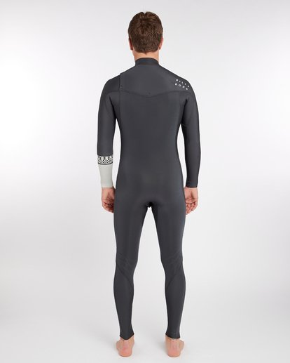 3 3/2 Furnace Revolution Chest Zip Long Sleeves Wetsuit Gris L43M06BIF8 Billabong