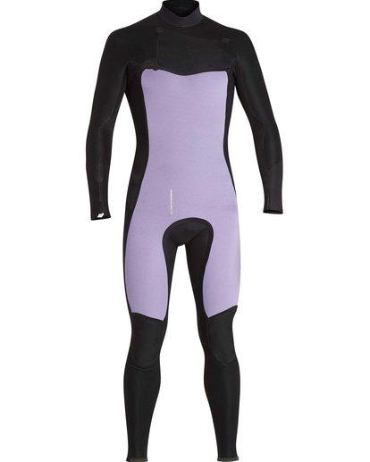 9 3/2 Furnace Absolute Chest Zip Gbs Wetsuit Noir L43M09BIF8 Billabong
