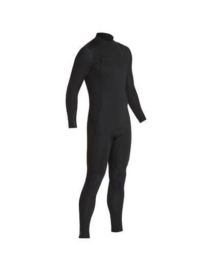 1 3/2 Furnace Absolute Chest Zip Gbs Wetsuit Noir L43M09BIF8 Billabong