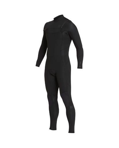 3 3/2 Furnace Absolute Chest Zip Gbs Wetsuit Noir L43M09BIF8 Billabong