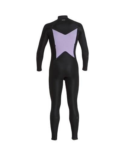 9 3/2 Furnace Absolute Chest Zip Gbs Wetsuit Grau L43M09BIF8 Billabong