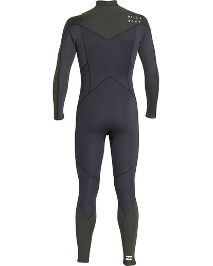 18 3/2 Furnace Absolute Chest Zip Gbs Wetsuit Grün L43M09BIF8 Billabong
