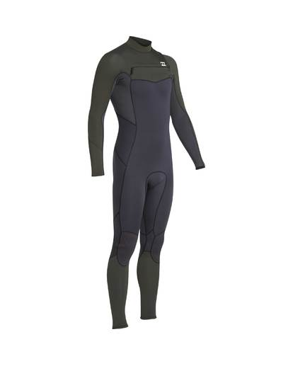 10 3/2 Furnace Absolute Chest Zip Gbs Wetsuit Grün L43M09BIF8 Billabong