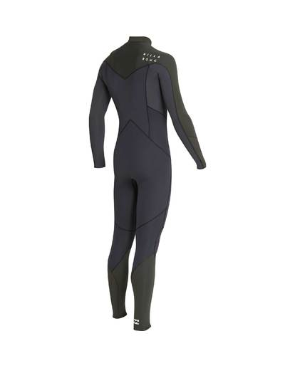 11 3/2 Furnace Absolute Chest Zip Gbs Wetsuit Grün L43M09BIF8 Billabong