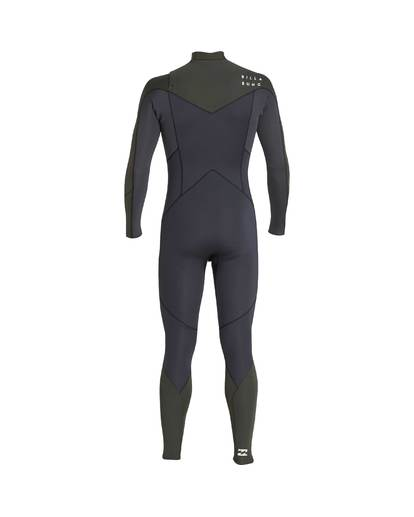 12 3/2 Furnace Absolute Chest Zip Gbs Wetsuit Grün L43M09BIF8 Billabong