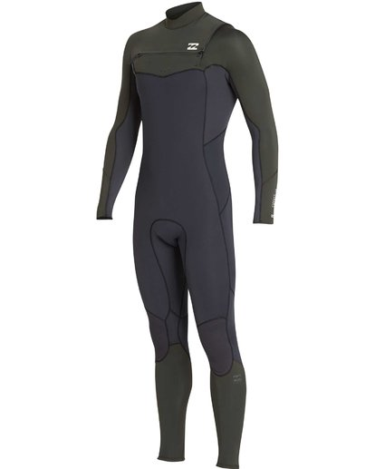 19 3/2 Furnace Absolute Chest Zip Gbs Wetsuit Grün L43M09BIF8 Billabong