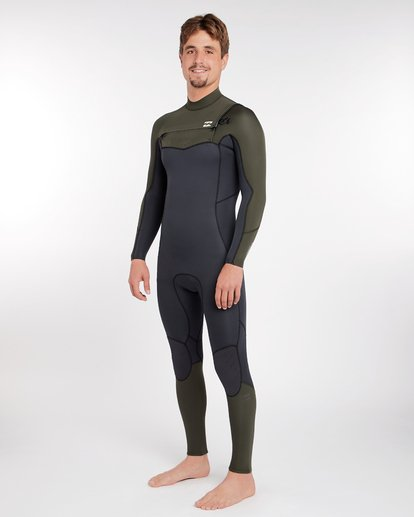 1 3/2 Furnace Absolute Chest Zip Gbs Wetsuit Grün L43M09BIF8 Billabong