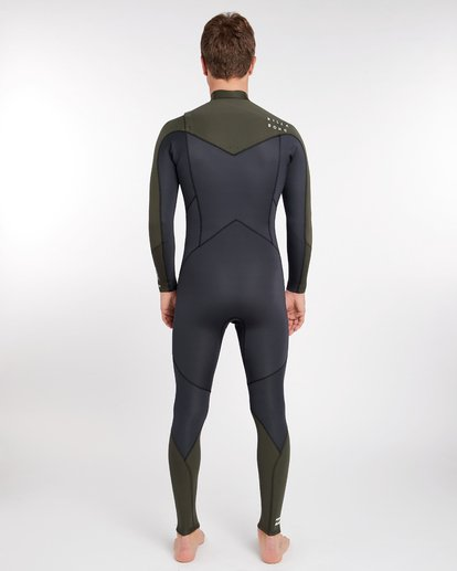 3 3/2 Furnace Absolute Chest Zip Gbs Wetsuit Grün L43M09BIF8 Billabong