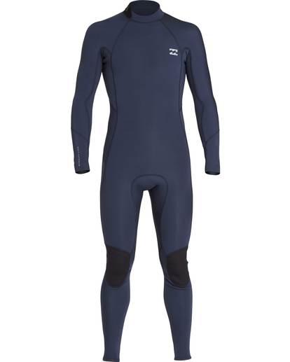 8 3/2 Furnace Absolute Back Zip Gbs Wetsuit Grey L43M10BIF8 Billabong