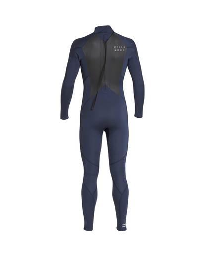 10 3/2 Furnace Absolute Back Zip Gbs Wetsuit Grey L43M10BIF8 Billabong